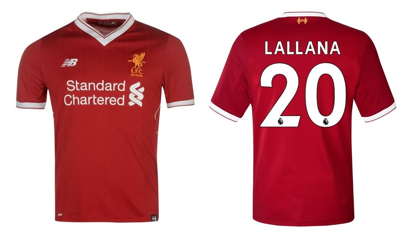 Trikot Kinder FC Liverpool 2017-2018 Home - Lallana 20
