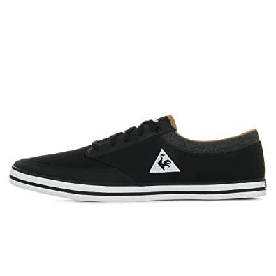 Le Coq Sportif Remilly Canvas 2 Tones noir, baskets mode homme