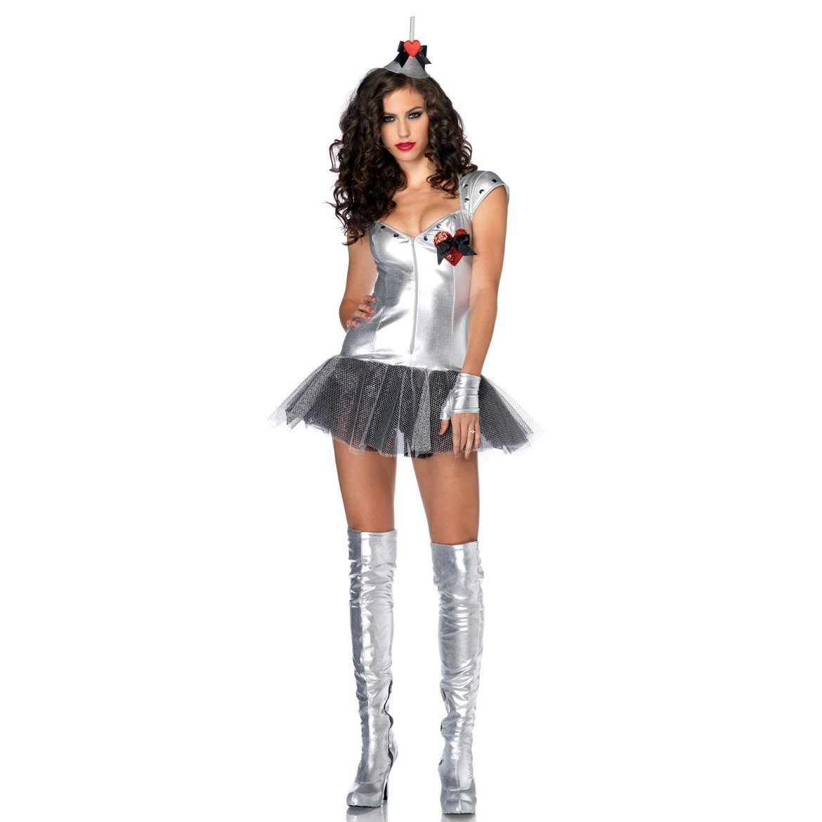 BURLESQUE BOX® - Sexy Ladies Tin Man Wizard of Oz Fancy Dress ...