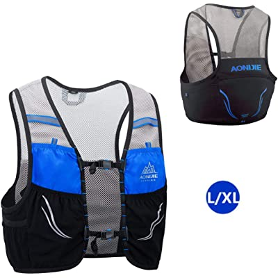AONIJIE 2.5 L Unisex Ultra Running Chaleco de Piel Avanzada hidratación Pack para Trail Running Cycling Marathoner