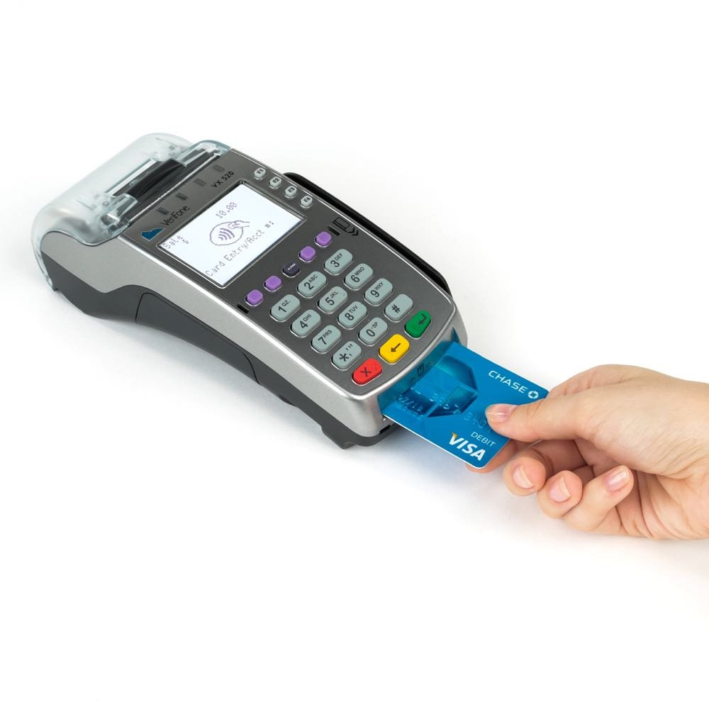 Verifone VX520 Dual Comm Credit Card Machine- With Smart Card Reader - NEW MERCHANT ACCOUNT REQUIRED