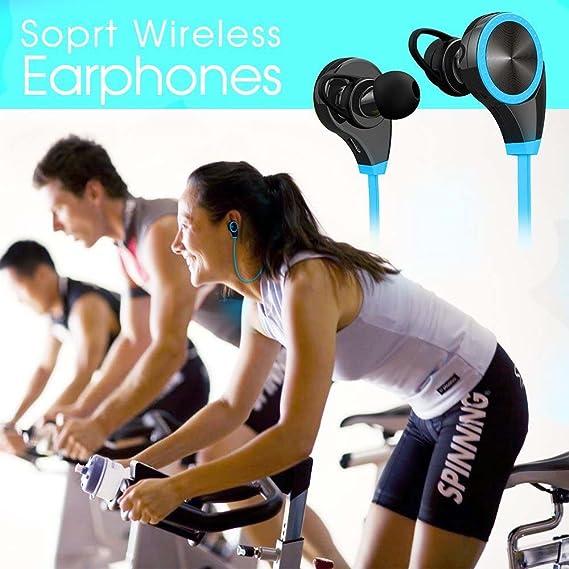 yimai RQ8 inalámbrico deportes auriculares Bluetooth V4.1 estéreo ...