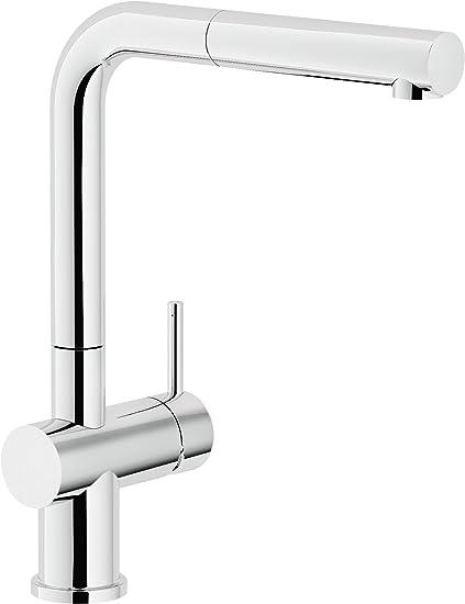 Nobili Rubinetterie Lv00117 Miscelatore Monocomando per lavello da ...
