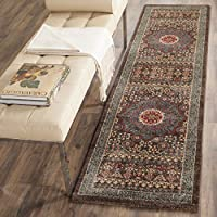 Safavieh Mahal Collection MAH620C Traditional Oriental Navy and Red Runner (2'2' x 8')