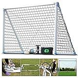 Eco Walker Soccer Goal Inflatable Goal Size 3m x 2m With Carrying Bag Pump Soccer Ball, Portable Fustal Handball Goal