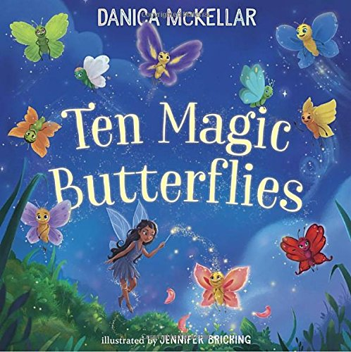 Ten Magic Butterflies - Store Magic Kids