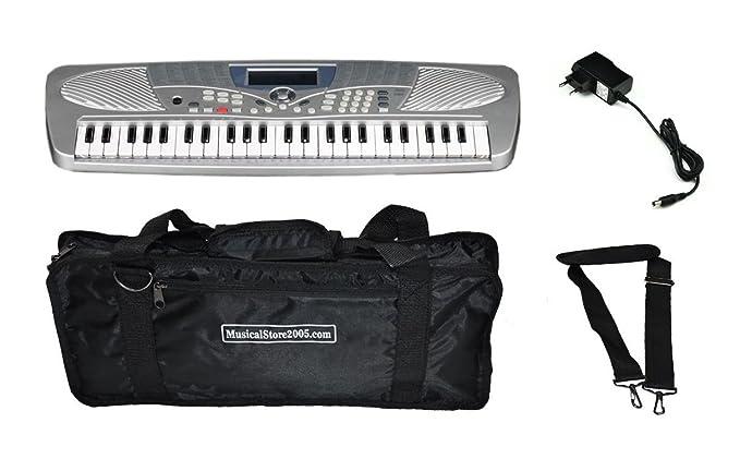 Medeli Kids Pack Mini teclado 49 teclas con fuente de alimentación/bolsa compatible: Amazon.es: Instrumentos musicales