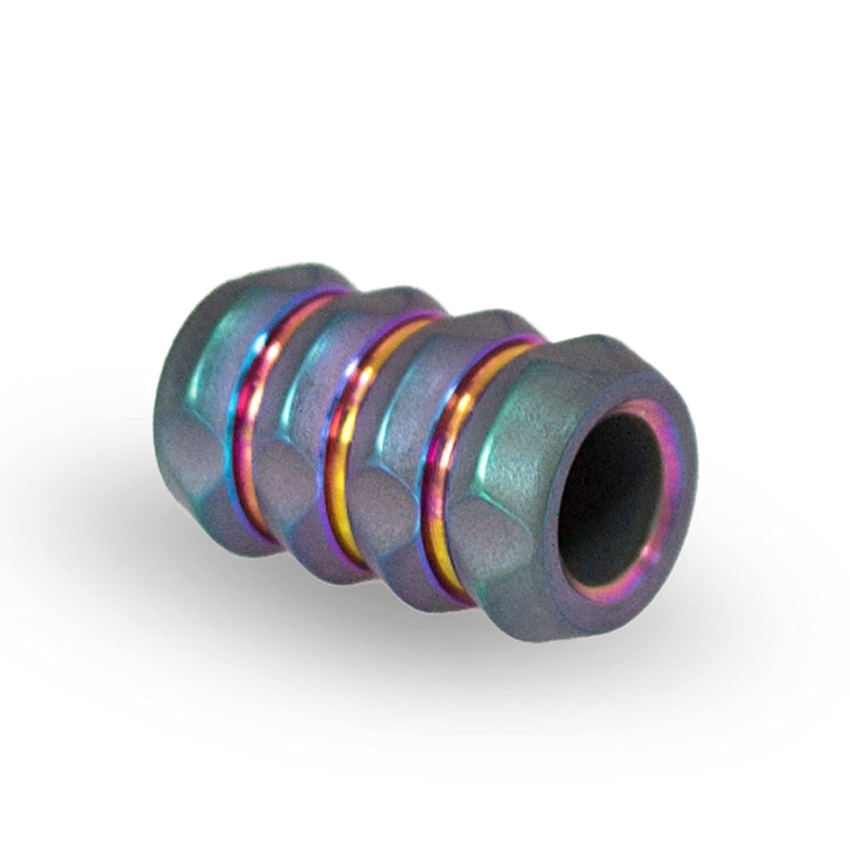 Supplies Charms Metal Paracord Beads Charms Handmade Paracord Titanium Bead Custom EDC Accessories