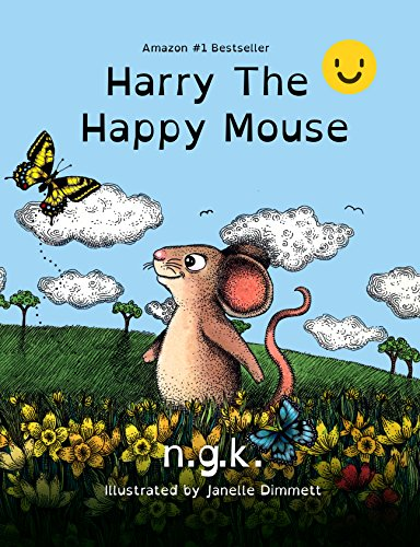 Harry The Happy Mouse -Dyslexia Friendly Version -