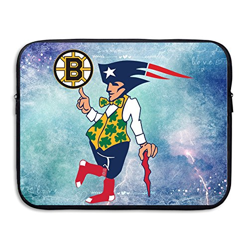 SYY Boston Sports New England Waterproof Laptop Sleeve Cover Bag Size 15 - Downton Boston