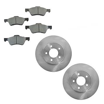 Front Metallic Brake Pads /& 2 Rotors Set Kit For Escape Mariner Tribute
