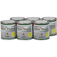 Echo Valley/RSR Industries 93100 EchoFlame 6 Pack Gel-Fuel