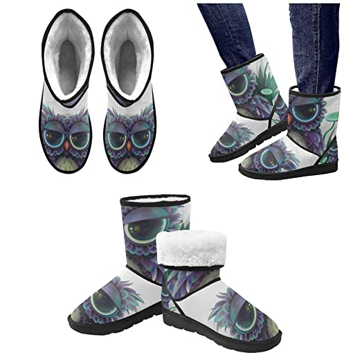 Winter Boots Cute Cat Seamless Pattern Custom Women's Snow Boots M047