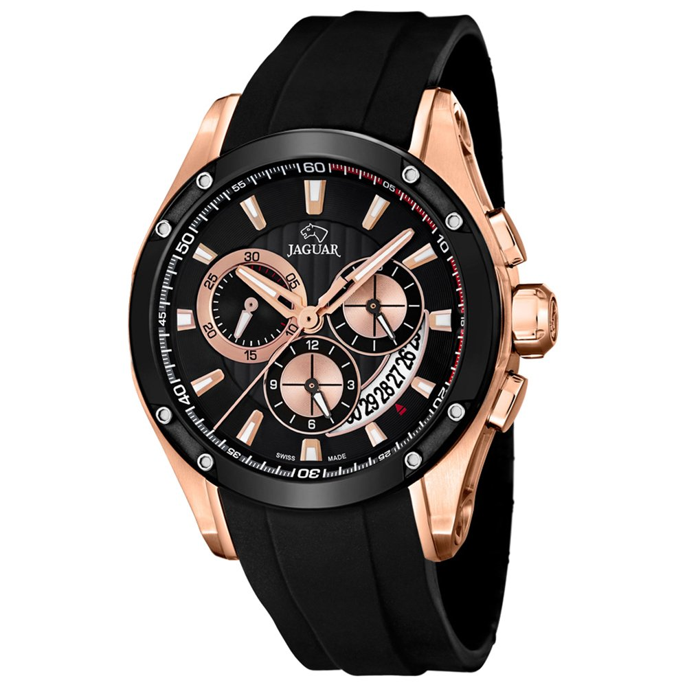 Amazon.com: Jaguar Special Edition Mens Analog Quartz Watch with Silicone Bracelet J691/1: Watches