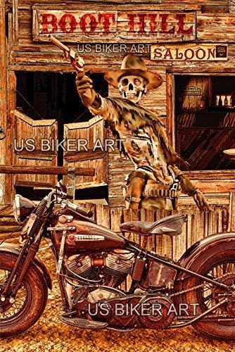 Harley Davidson Vintage Boots - 4