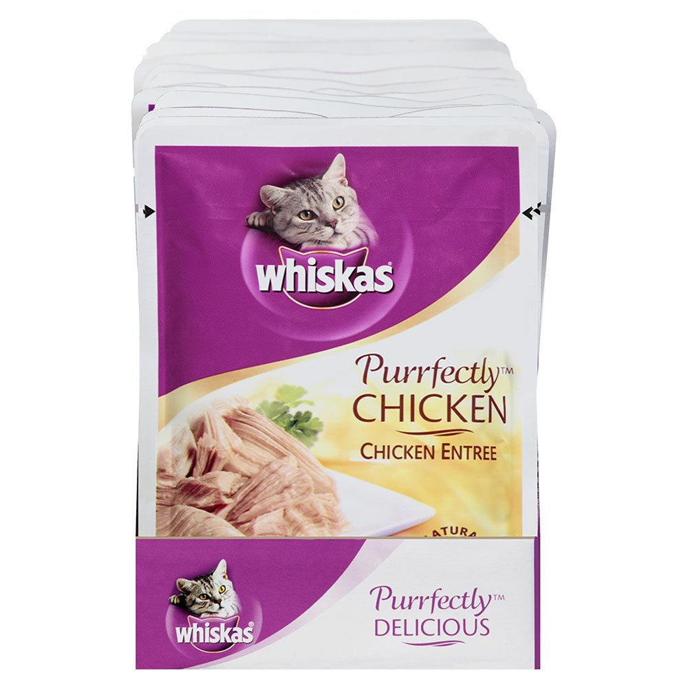 Whiskas Purrfectly Wet Cat Food Pouches