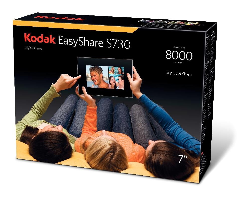 Kodak S730 - Marco digital (800 x 480, LCD, 15:9, AVI, MOV, MPEG ...