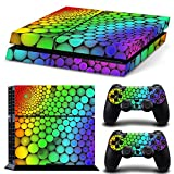 Gam3Gear Pattern Series Decals Skin Vinyl Sticker for PS4 Console & Controller – Rainbow Circle Review