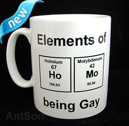 Periodic table element gay mug 11oz amazon kitchen home periodic table element gay mug 11oz urtaz Gallery