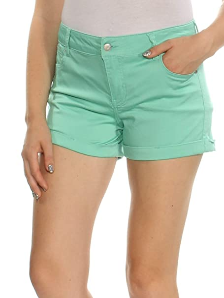 4227083954 Celebrity Pink Juniors 5 Cuffed Denim Shorts Shorts