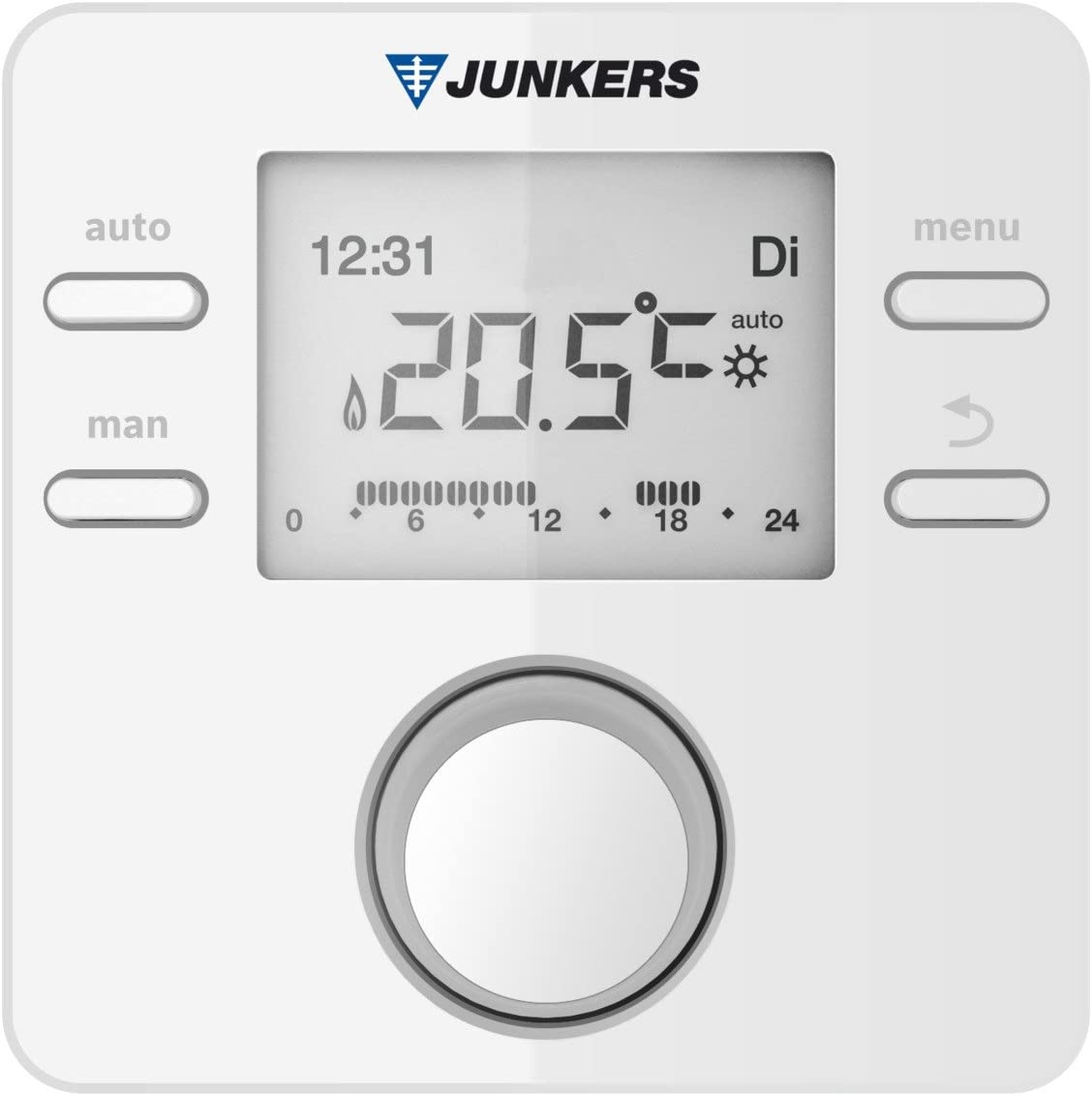Junkers termostato regulador de la temperatura FR 120: Amazon.es ...