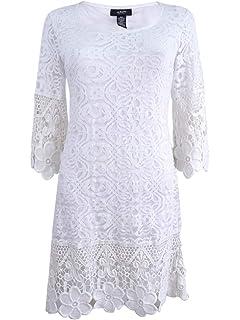 c9ff32f993a52 Jessica Howard Women's Mint Blue Lace Illusion Sheath Dress Petite ...