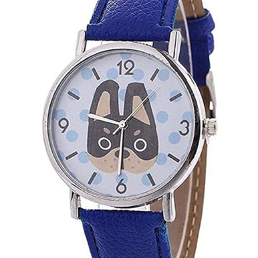 Scpink Relojes con Patrones de Animales para Mujeres, Relojes exclusivos para Dama, Relojes de