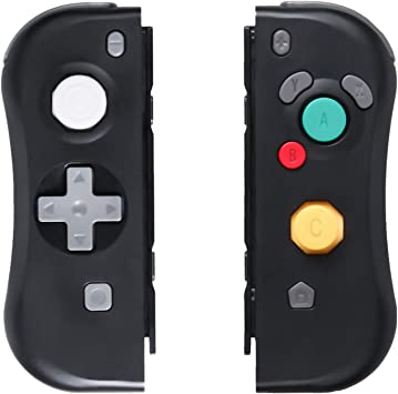 Sades NS Switch Joy - Mando a Distancia para Nintendo Switch (Izquierdo y Derecho), Color Negro: Amazon.es: Electrónica