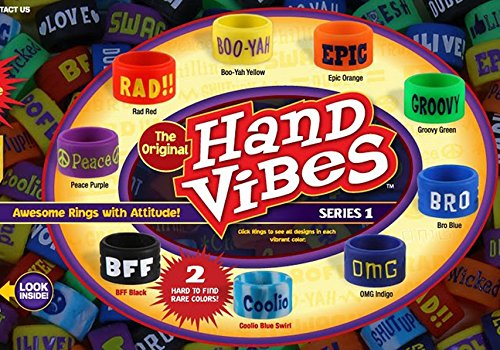 Hand Vibes Collectible Rings (Styles & Colors May Vary)