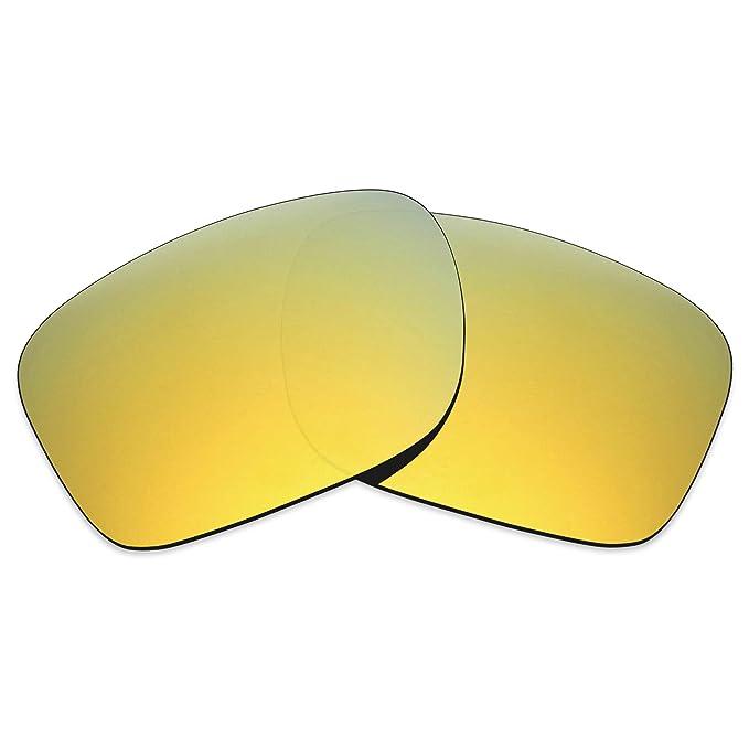 MRY polarizadas lentes de repuesto para Oakley Holbrook (LX – Gafas de sol deportivas, color rico Opción Colores