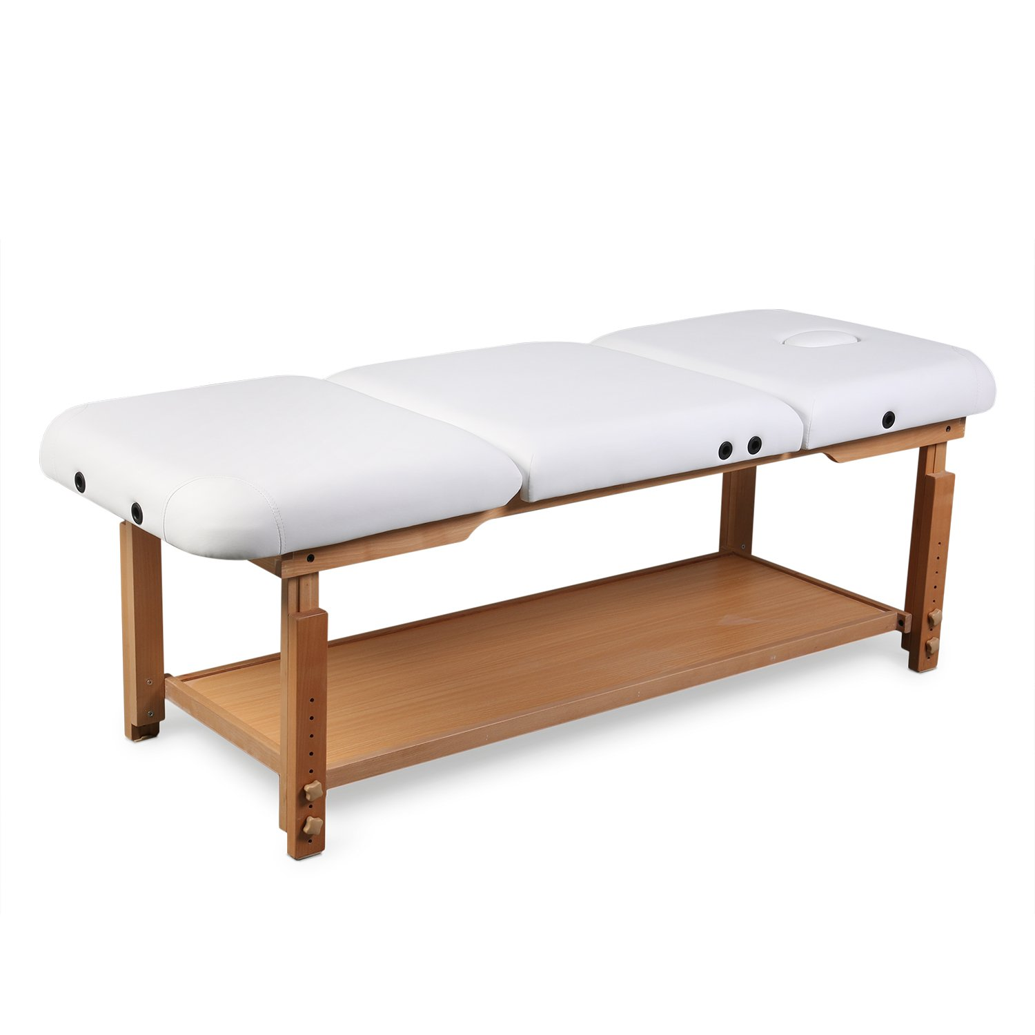 3 Sections Professional Stationary Massage Table Bed Beauty Therapy Salon Couch by Healthline Massage Products (Image #6)