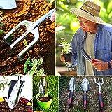 ESOW Garden Tool Set, 3 Piece Cast-Aluminum Heavy