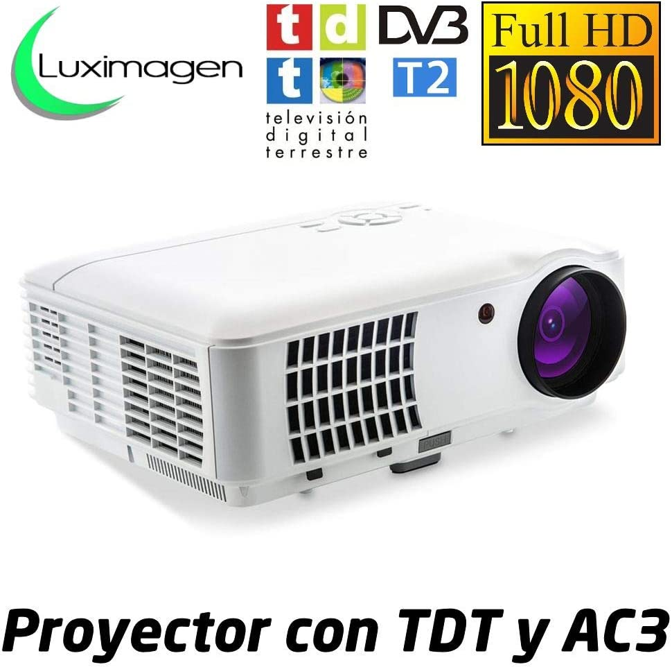 Proyector de Alta definicion FULLHD, Android, WiFi, TV TDT, AC3 ...