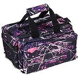 Bulldog Cases Deluxe Muddy Girl Range Bag with Strap, Camo/Black