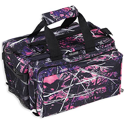 Bulldog Cases Deluxe Muddy Girl Range Bag with Strap, Camo/B