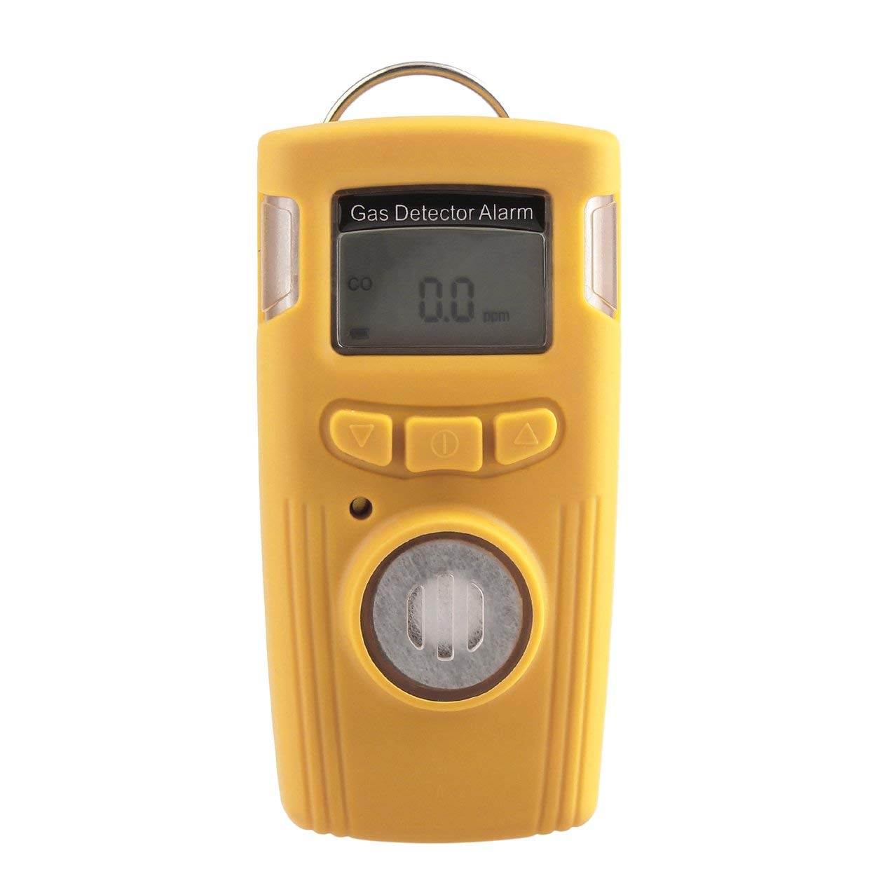 Losenlli Mini portátil HT-530 Detector de monóxido de Carbono Detector de Gas Alarma LCD Probador de Gas CO eléctrico 1000 ppm Precisión +/- 5 ppm: ...