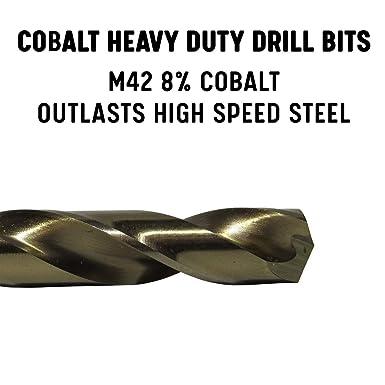 9mm COBALT STUB DRILL HEAVY DUTY HSSCo8 M42 EUROPA TOOL OSBORN 8205020900  P108