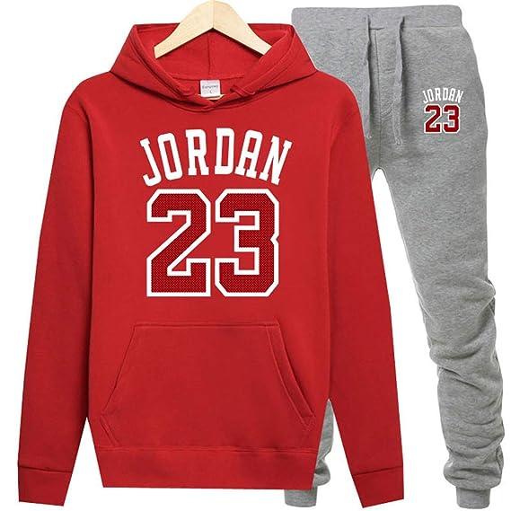 Moda jordan 23 Hombres Ropa Deportiva Imprimir Hombres Sudaderas ...