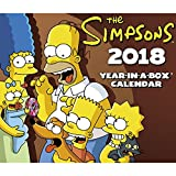 2018 The Simpsons Calendar (Year-In-A-Box)