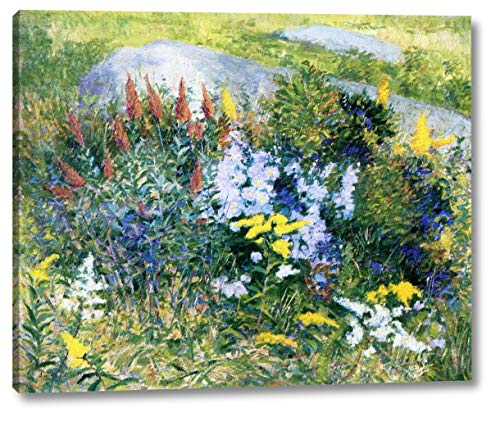 Rock Garden at Giverny by John Leslie Breck - 18