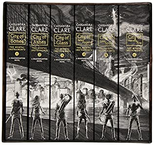 book cover of The Mortal Instruments, the Complete Collection