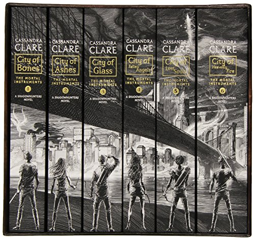 The Mortal Instruments, the Complete Collection(City of Bones/ City of Ashes/ City of Glass/ City of Fallen Angels/ City of Lost Souls/ City of Heavenly Fire) (First Love Instruments)