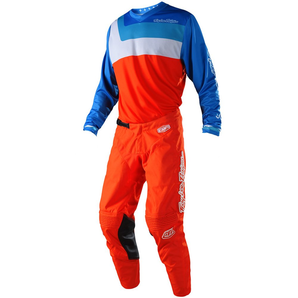 Troy Lee Designs GP Prisma Orange Jersey/Pant Combo - Size MEDIUM/32W