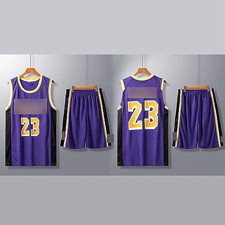 HS WANG9 Los Angeles Lakers # 23 Lebron James Uniformes de