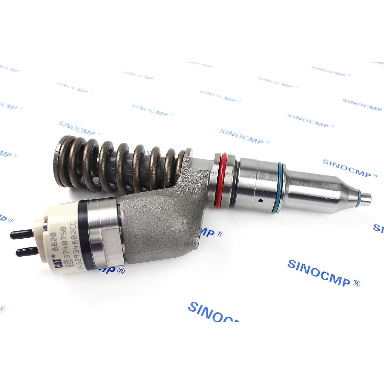 C15 Engine Diesel Fuel Injector 374-0750 3740750 - SINOCMP Injector