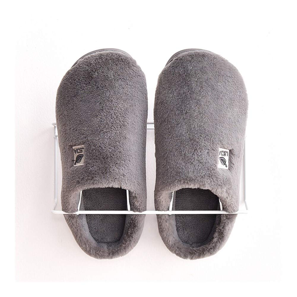 HOUSEHOLD Slippers Men's Hardwearing Light Weight Casual Indoor Pool Shoes Slippers Flat Classic Anti Skid Slippers Sandals Washable Durable Non-Slip Slippers (Color : Gray, Size : XXL) by HOUSEHOLD