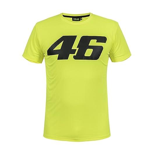 Vr46 Offizielles Valentino Rossi T Shirt Grosses Logo Core Sammlung