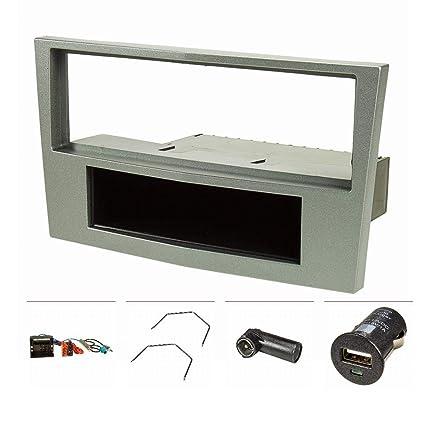 vendita più calda i più votati più recenti nuovi stili Mascherina autoradio set + caricatore USB: Amazon.it ...