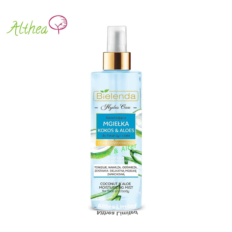 Hydra Care Crema idratante al cocco e aloe per pelle secca e disidratata viso e corpo Bielenda