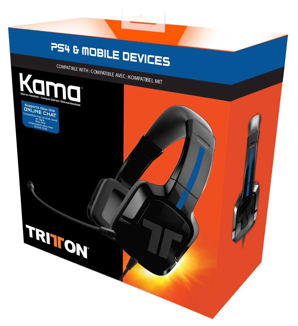 Mad Catz Tritton Kama Stereo Gaming Headset for PS4, PS Vita, Mobiles & Tablets